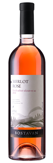 Bostavan Merlot Rose